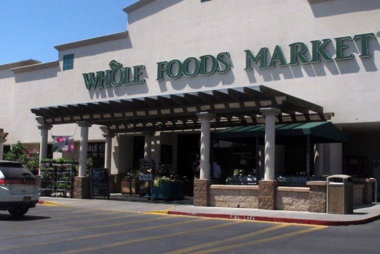 A Whole Foods Market in Albuquerque, N.M. is shown Thursday June 6, 2013 during lunch time.