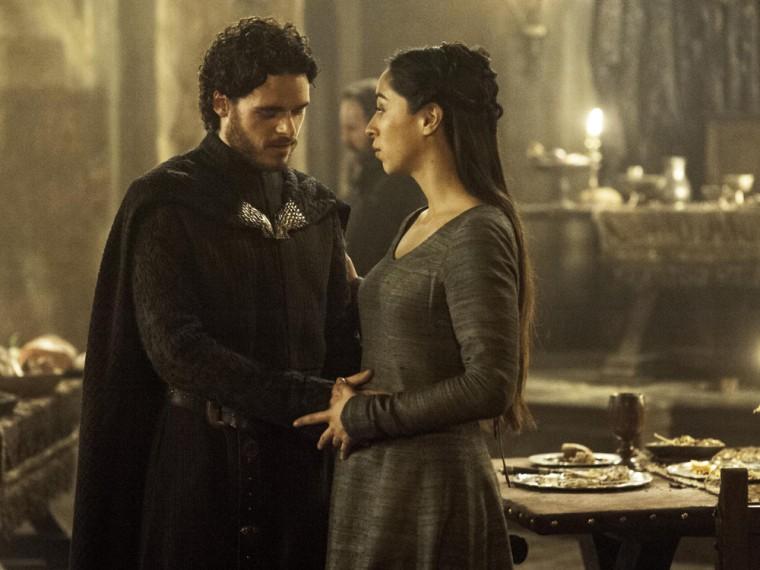 Image: Robb and Talisa