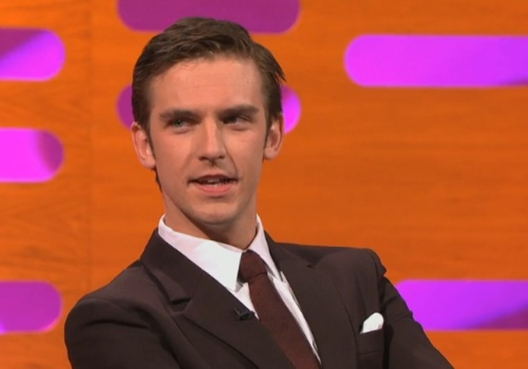 "Dan Stevens, who played Matthew, the former heir apparent on ""Downton Abbey,"" discussed his recent weight loss during a visit to ""The Graham Norton Show."""