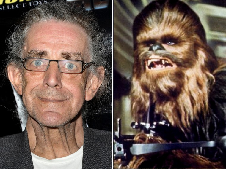 Peter Mayhew, Chewbacca.