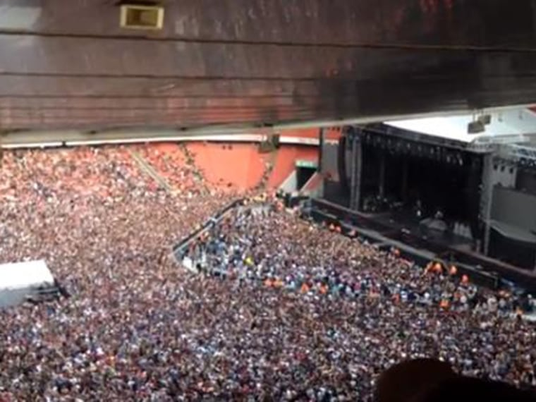 Image: London concert crowd