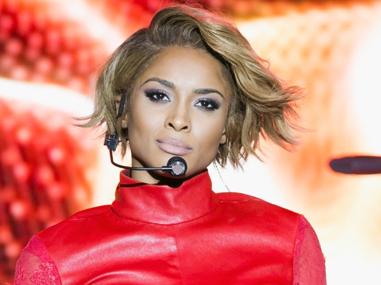 Ciara performs at LA Gay Pride Festival on June 8 in West Hollywood.