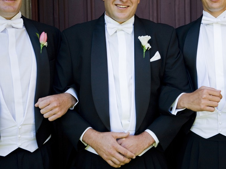 Young groomsmen are finding it difficult to stand as best man because wedding costs are rising