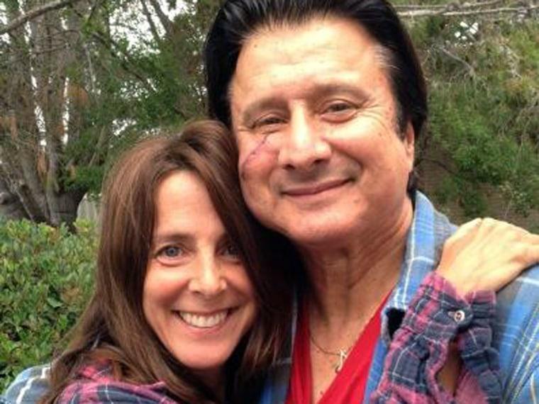 Martha Quinn and Steve Perry.