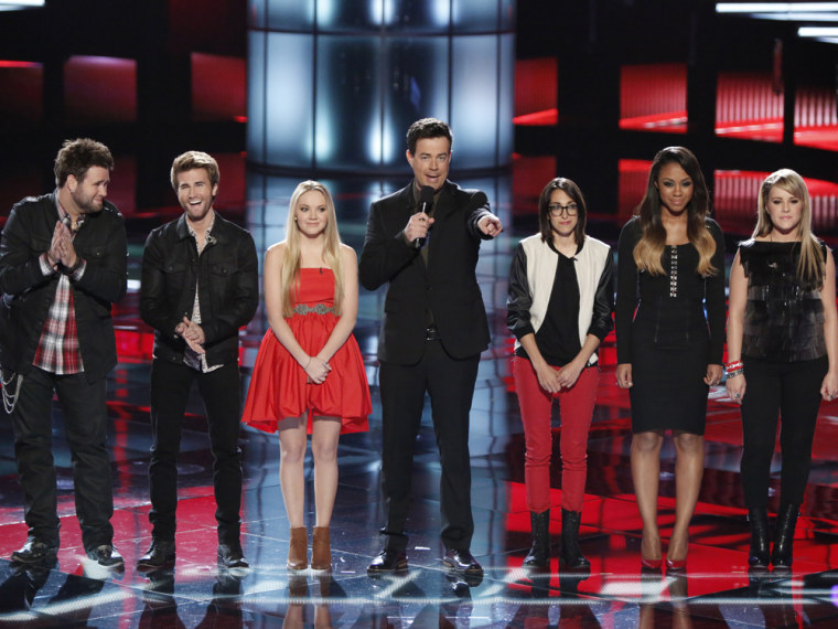 """Image: \""""The Voice\"""" top 5"""