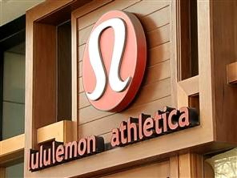 Lululemon, the popular yoga and fitness brand, had another challenge this week with the announcement that the CEO is resigning in the wake of the controversy over too-sheer pants. TODAY's Matt Lauer reports and retail analyst Dana Telsey discusses the future of the brand.