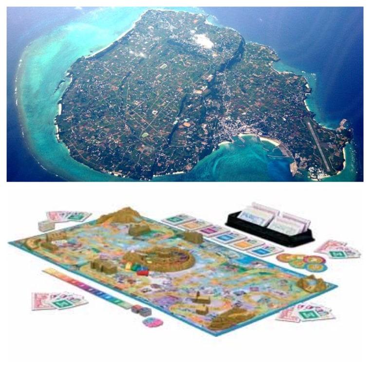 Yoron Island and Game of LIFE