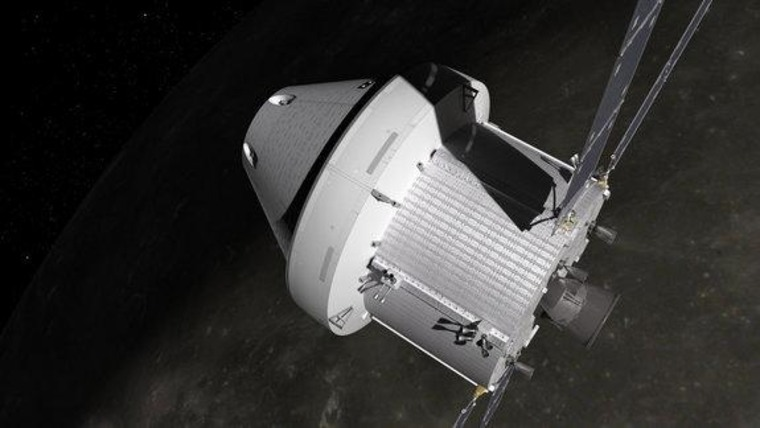 NASA works on reusability for its Orion next-generation spaceship