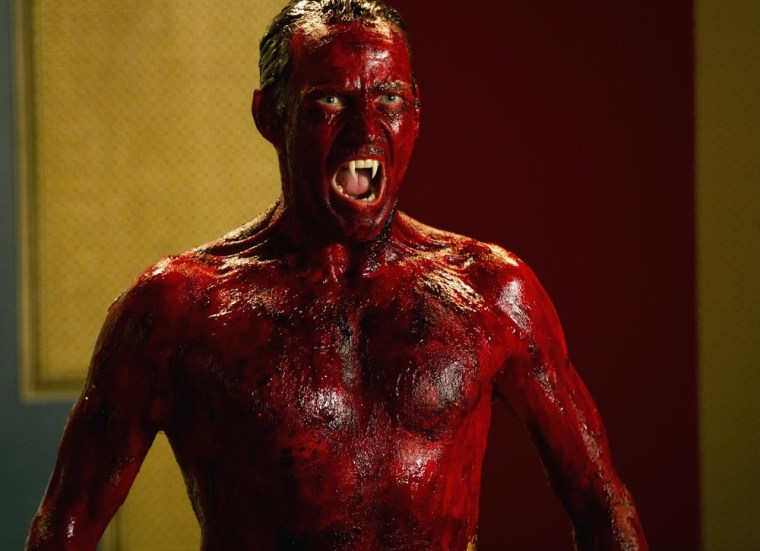 """Image: Bill was reborn after drinking Lilith's blood on \""""True Blood.\"""""""