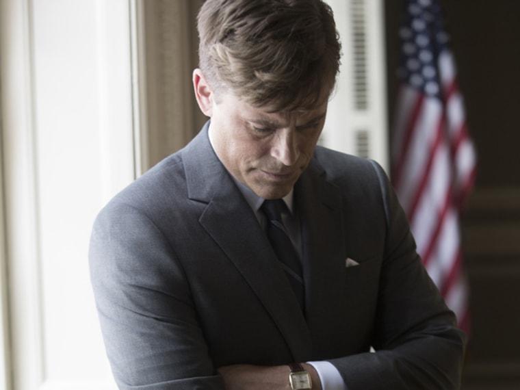 Image: Rob Lowe as JFK