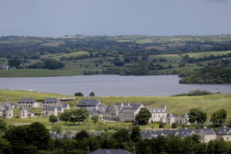 The Lough Erne Golf Resort, Enniskillen, Northern Ireland, Thursday, June 13, 2013.