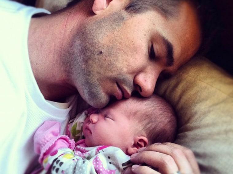Derek Johnson and daughter Alexandra.