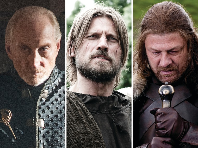 Image: Tywin, Jaime and Ned