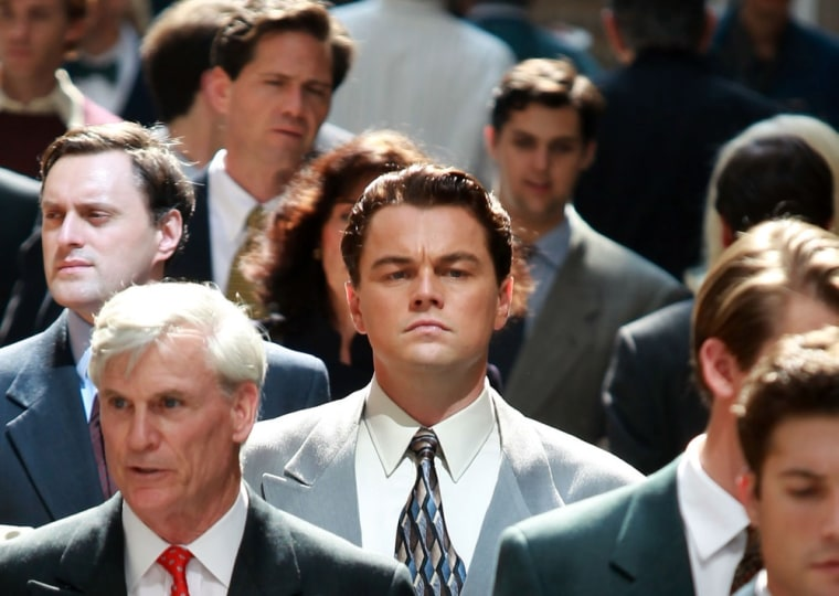 """Image: Leonardo DiCaprio in \""""The Wolf Of Wall Street.\"""""""