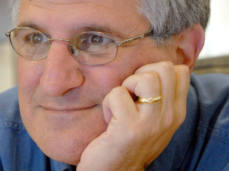 Paul Offit, defender of vaccine safety, in his office at Abramson Research Center at CHOP. (April Saul/Inquirer) HS1OFFIT15P4 105268 4 of 4