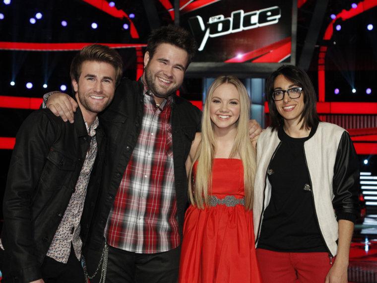 Image: Voice finalists