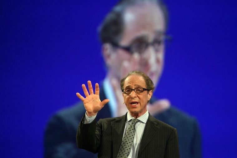 San Francisco, UNITED STATES: Ray Kurzweil speaks on