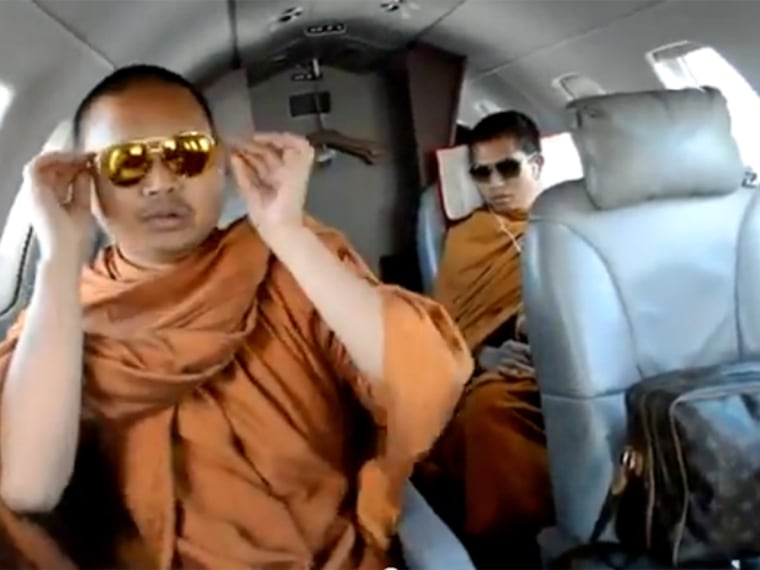Buddhist monks were disciplined over this video.