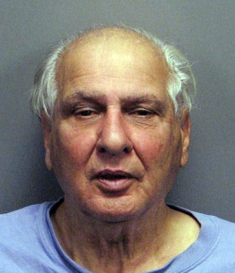Joseph Naso, seen in an undated booking photo, insists he is