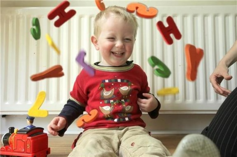 Patterns of subtle sounds and pauses may reveal a skeleton of grammar in toddler-speak.