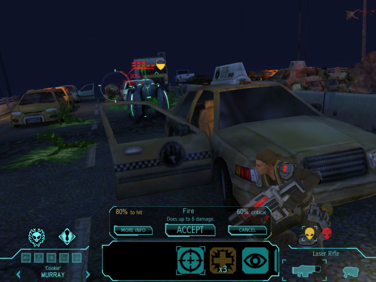 ""\""""XCOM: Enemy Unknown"""" wowed gamers when it adopted the PC gaming classic to the PlayStation 3 and Xbox 360 consoles late last year. But can publisher 2K do the same thing for iOS?""760|570|?|en|2|b9517757c5e11f65cc1a259334f752a0|False|UNLIKELY|0.3216770887374878