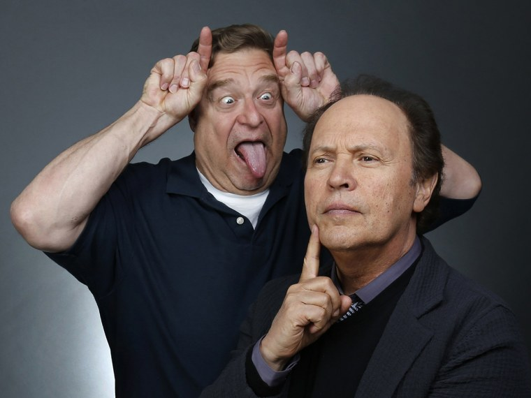 Image: John Goodman and Billy Crystal
