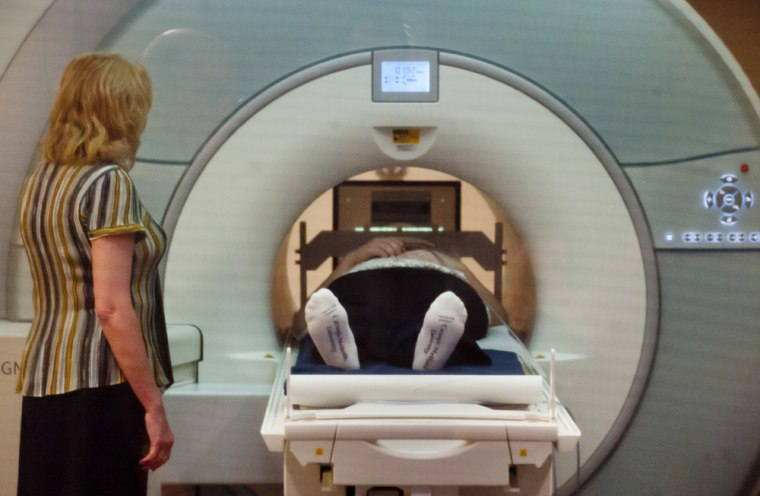 An fMRI scanner can be used to detect emotions in the brain