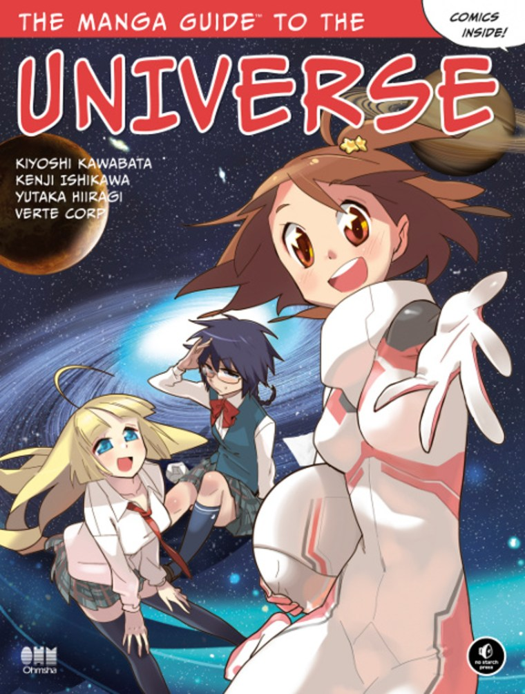 """The Manga Guide to the Universe"" surveys the cosmos in comics."