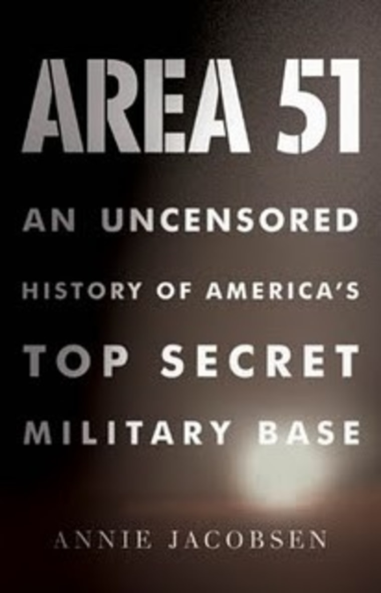 """Area 51: An Uncensored History of America's Top Secret Military Base"" delves into decades' worth of hush-hush programs."