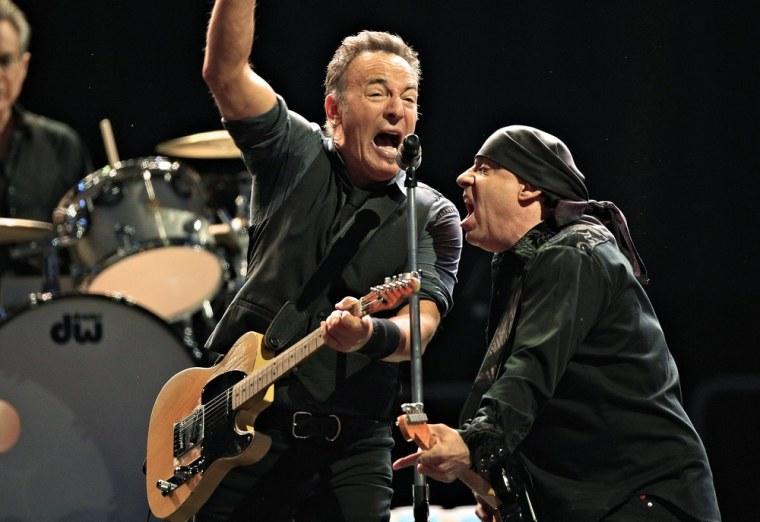 Image: Bruce Springsteen, Little Steven
