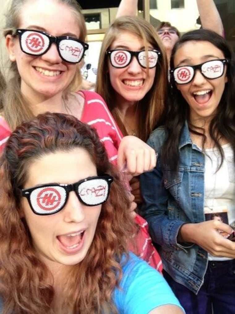 Thanks #HunterTODAY for the glasses!