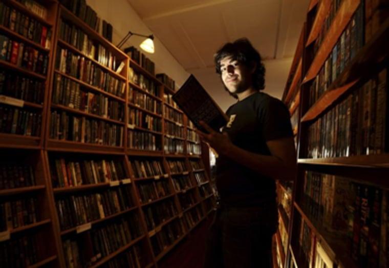 Internet activist Aaron Swartz