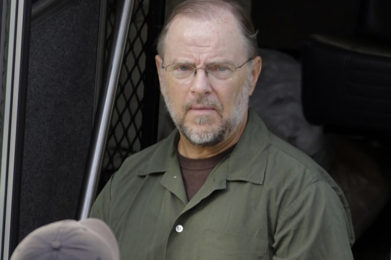 Former Enron CEO Jeffrey Skilling arrives at the Bob Casey Federal Courthouse for a resentencing hearing Friday, June 21, 2013, in Houston.