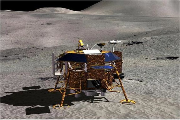 In China's next phase of its moon exploration program, the Chang'e-3 would soft land on the lunar surface and deploy an instrument-laden rover.