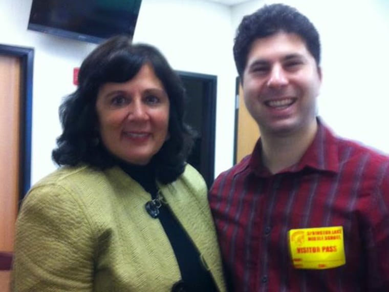 Joyce Jeuell, left, was the teacher that changed everything for Scott Barry Kaufman.