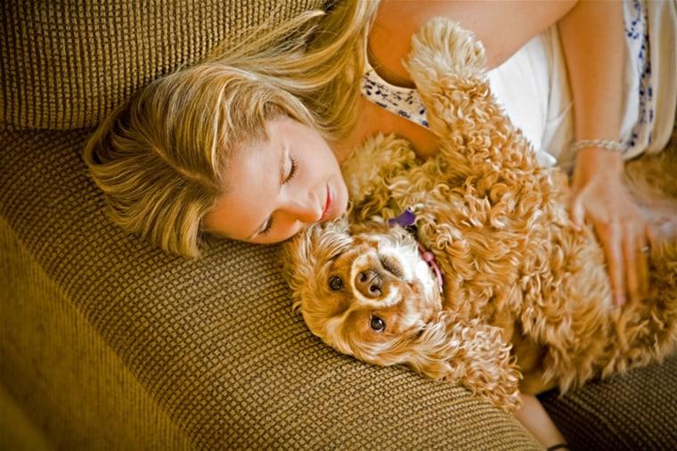 Pets can improve health