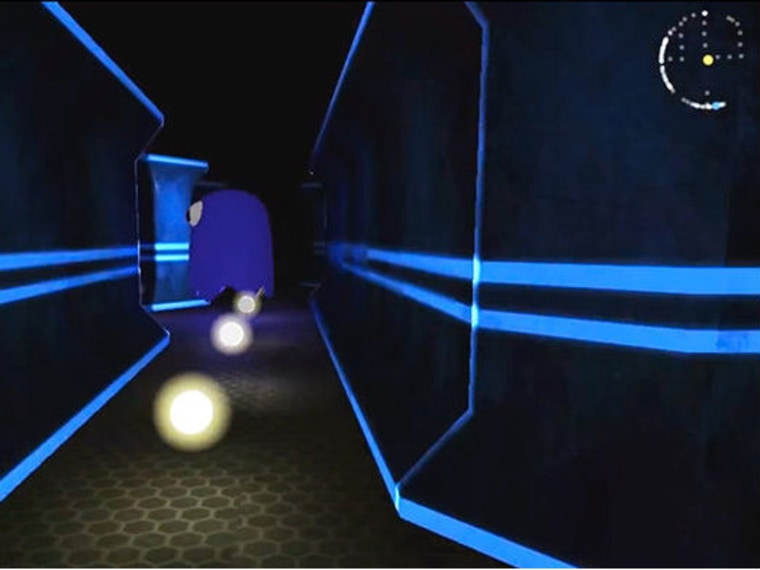 """A new first-person version of the classic arcade game \""""Pac-Man\"""" shows what it's like to step inside the yellow pellet-muncher's shoes, and the results are terrifying."""
