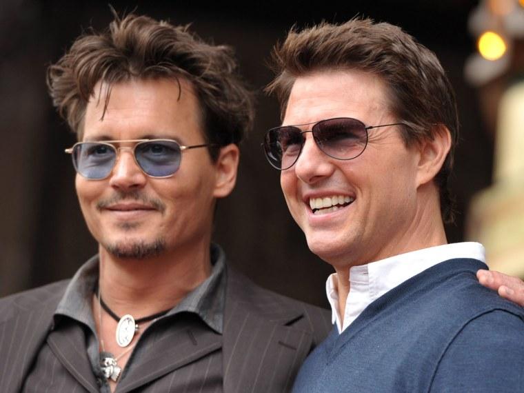 Image: Johnny Depp, Tom Cruise