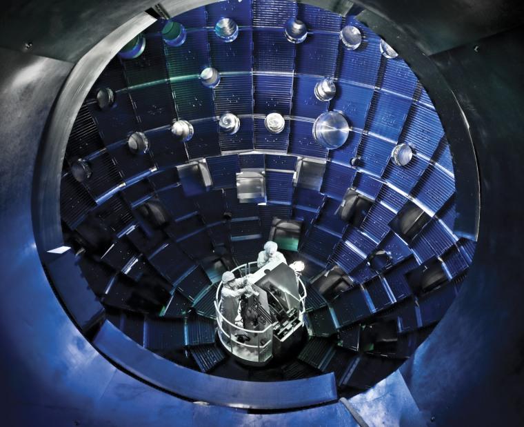 Image: NIF target chamber