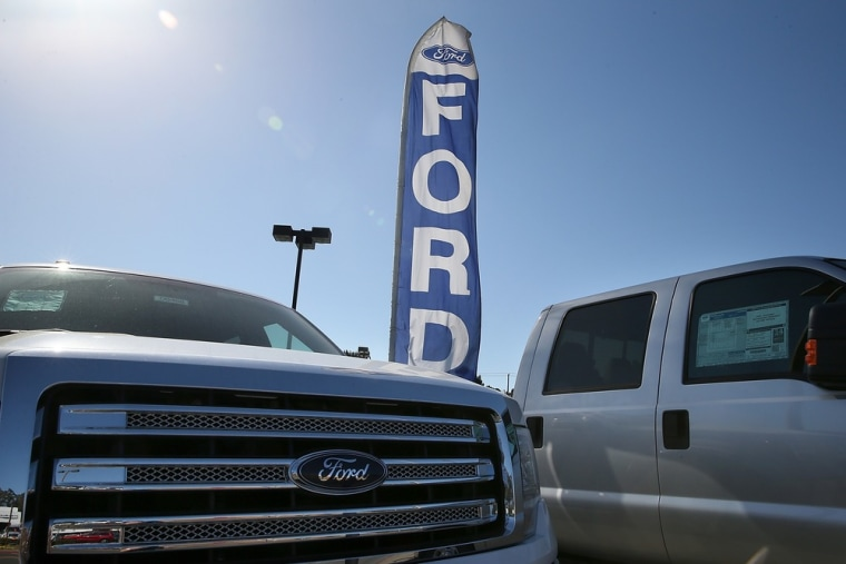 The Ford F-150 is the country's top selling vehicle and has a new title, which it snatched from the Toyota Camry: