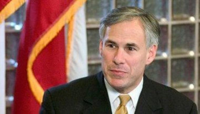 Texas Attorney General Greg Abbott (R)