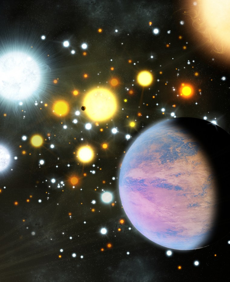 Alien planets found in star cluster surprise scientists