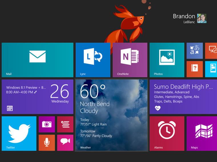 Windows 8.1 beta