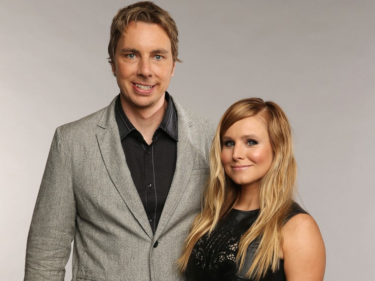 Image: Dax Shepard and Kristen Bell.