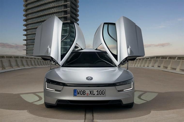 Image: Volkswagen XL1 hybrid