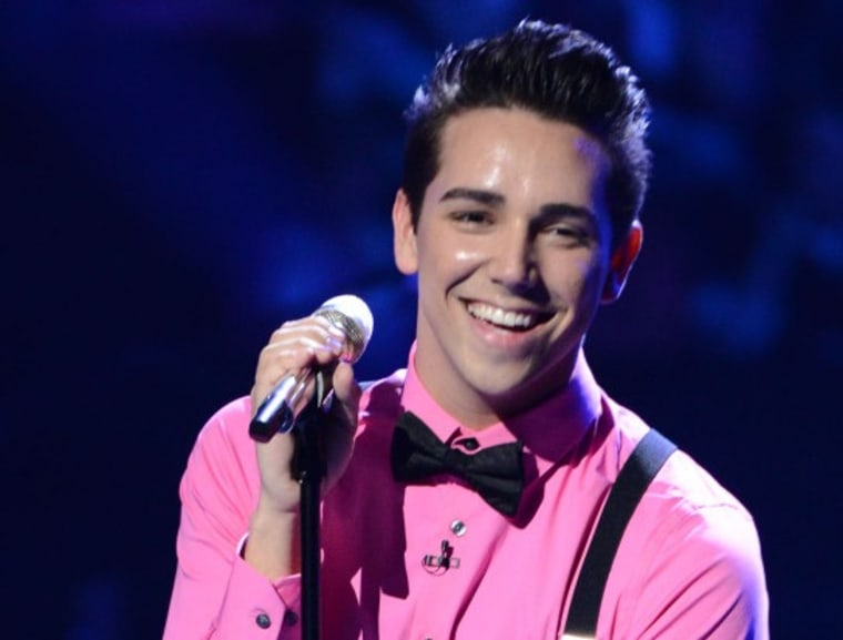 """Lazaro Arbos survived the Sudden Death Round of """"American Idol"""" on Thursday."""