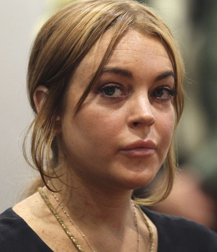 A Los Angeles judge has denied a motion to put Lindsay Lohan's probation violation case on the slow track.