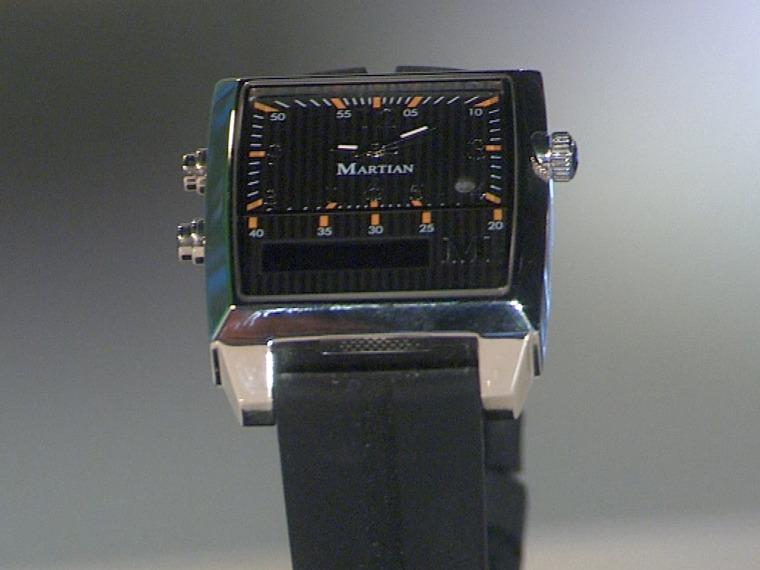 Image: Martian watch