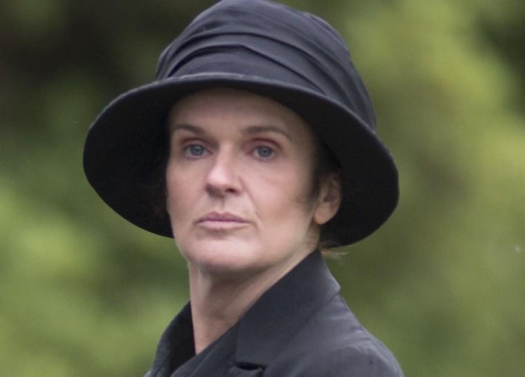 "Siobhan Finneran as O'Brien on the season three finale of ""Downton Abbey."""