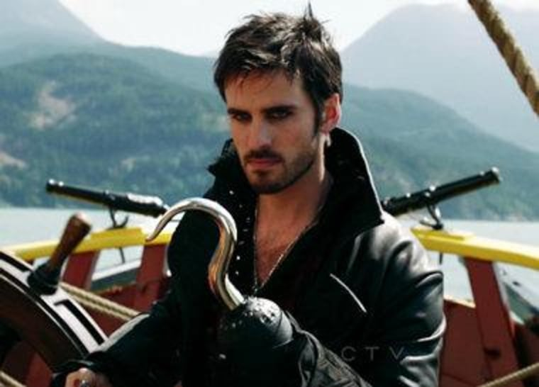 """Colin O'Donoghue as Hook on ABC's """"Once Upon a Time."""""""